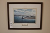 G.S. Hill Framed Print 380/750 & (2) Maurice Crosby Nautical Pictures