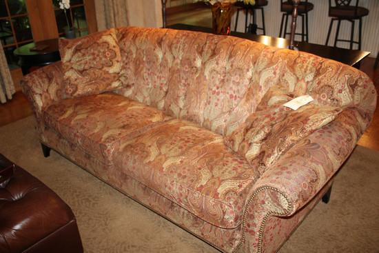 Arhaus Two-Cushion Sofa