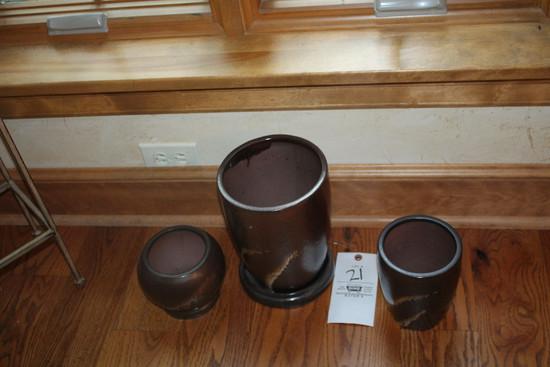 3pc Pottery Set