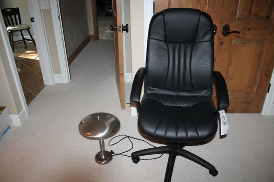Office Chair & Lamp