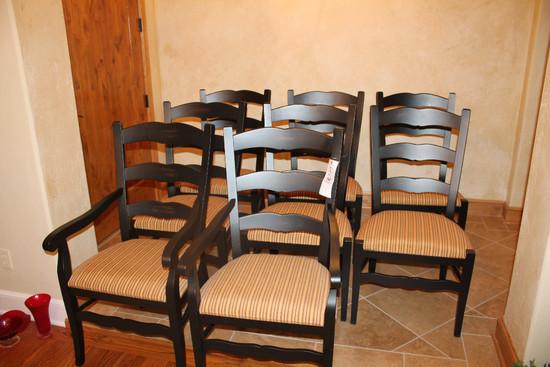 (8) Arhaus Chairs inc. (2) Captains Chairs