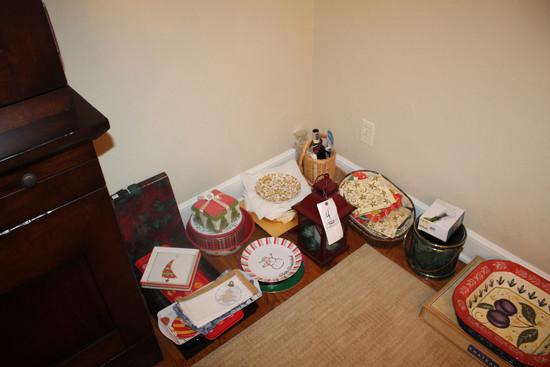 Assorted Christmas & Serving Decor