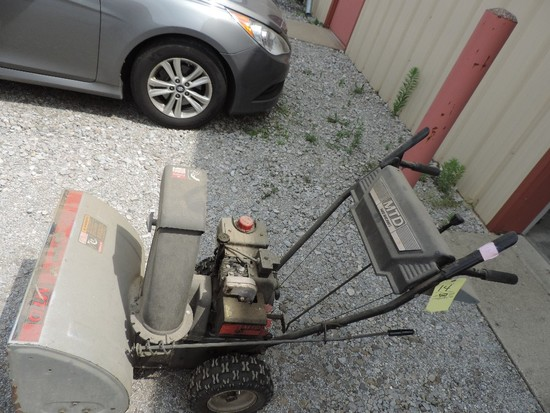 """MTD Gold Series Snow Blower, 5 HP, 24"""" Clearing Path"""