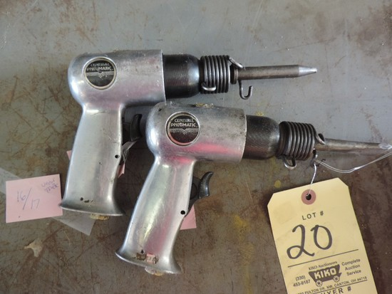 Central Pneumatic Air Chisels
