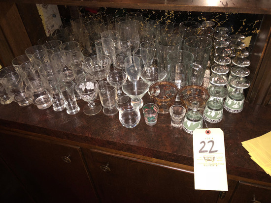 Stemware, Shot Glasses