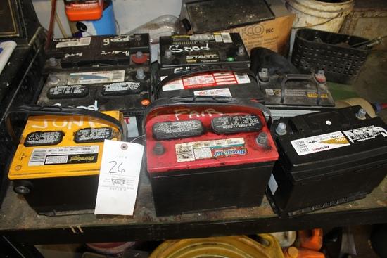 8 Batteries