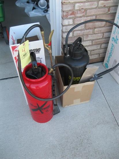 (2) Pump Spryaers