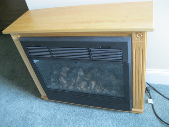 Electric fireplace - Heat Surge
