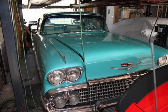 1958 Chevrolet Impala 2-Door Hard Top
