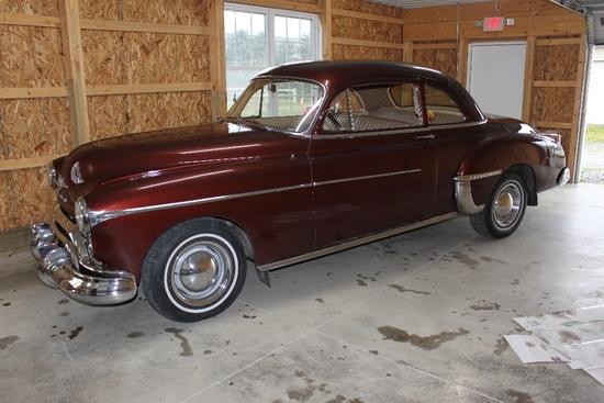 1950 Olds 88 2-Door Coupe