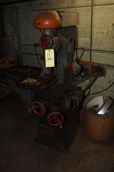 Jackson Machine Tool Co. Vertical Milling Machine