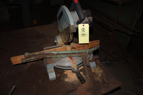 Delta Power Miter Saw & Horse Haines