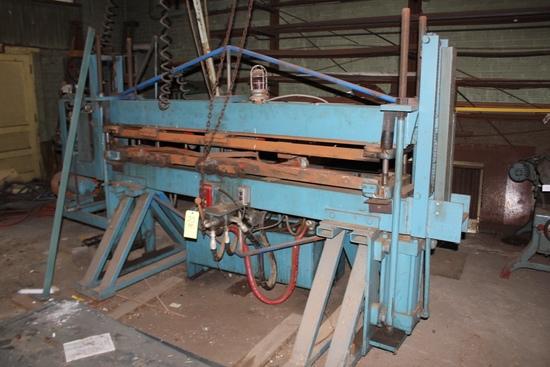 7ft  Tin Banding Press