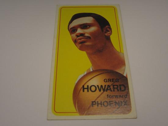 1970-71 TOPPS BASKETBALL #117 GREG HOWARD