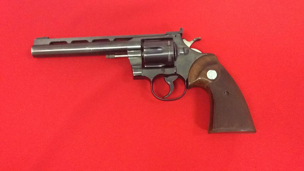 Colt Officer Match Revolver