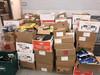 Several dozen boxes