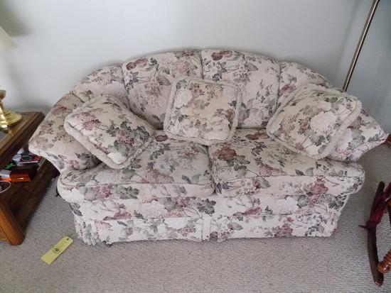 England/Corsair Floral Sofa