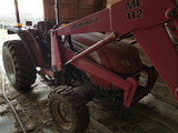 Mahindra 3510 Diesel Tractor With ML112 Front End Loader