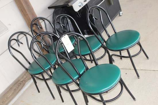 (6) Bistro Chairs