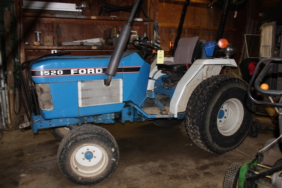 1520 Ford Tractor, Diesel, Showing 2,744 hours
