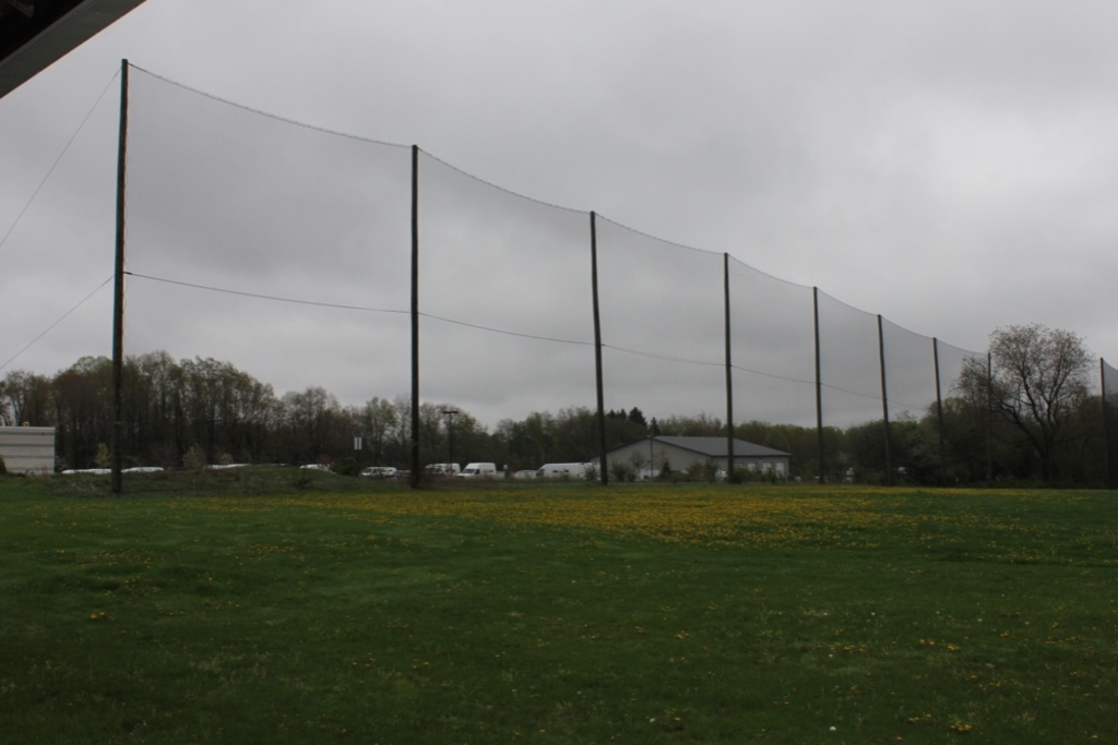 Large Net Approx 40 ft High x 600 Ft Long w/ Poles