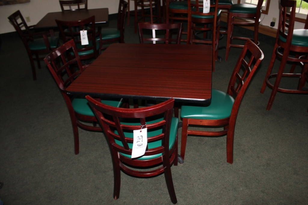 Counter Height Table w/ 4 Chairs