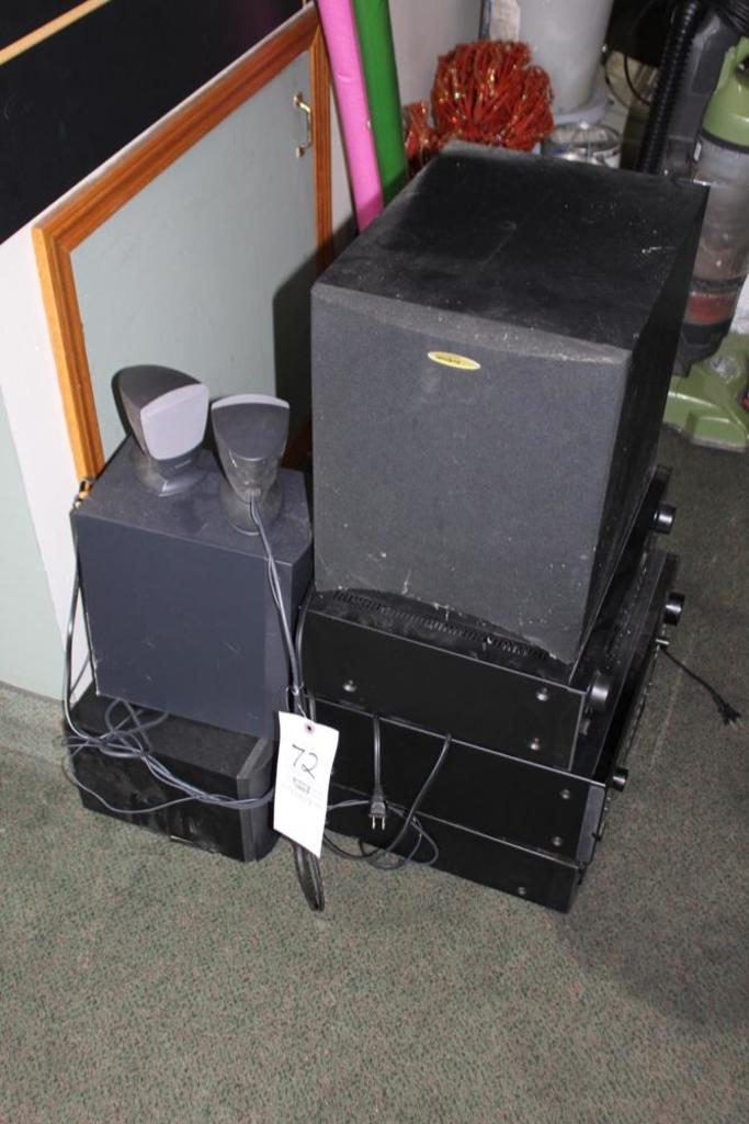 Stereo System & Speakers
