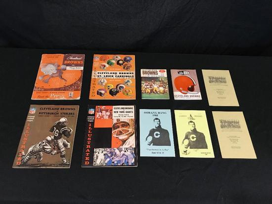 Cleveland Browns Football Programs