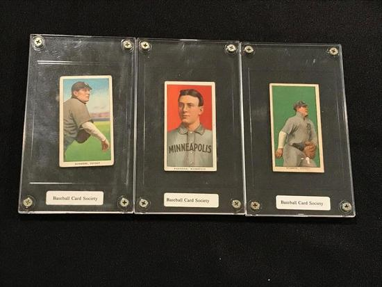 1910 Piedmont Cigarette Baseball Cards