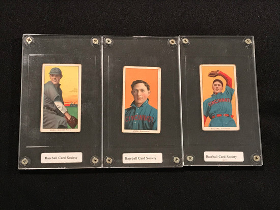 1910 Sovereign Cigarette Baseball Cards