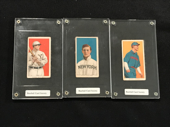 1910 Sweet Corporal/Sovereign Cigarette Baseball Cards
