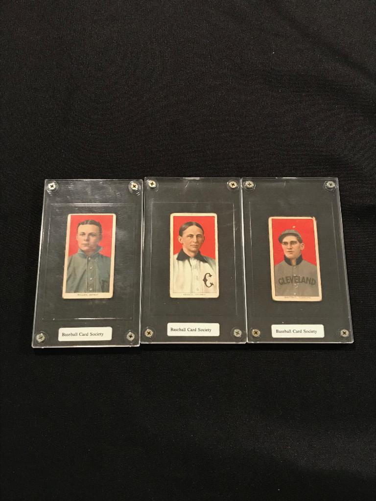 1910 Piedmont Cigarette Baseball Cards