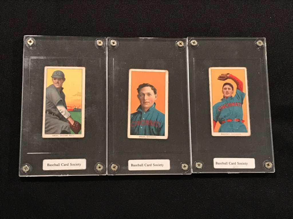 1910 Sovereign Cigarette Baseball Cards