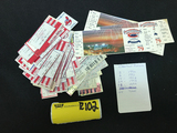 Cleveland Indians Tickets 1990, 91, 92, 93, 94, (105)