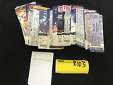 Cleveland Indians Tickets 2002 - 2016 (62)