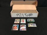 1971 Topps Baseball Set