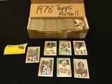 1978 Topps Football Set
