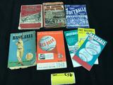 1930's - 1960's Rulebooks - Schedules (8)