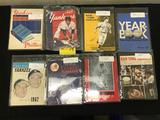 1950's Yankees Sketchbook, 1960's Yankee Yearbooks (8)