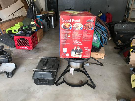 Turkey Fryer, Portable Grill