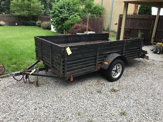10' Single-Axle Dump Trailer