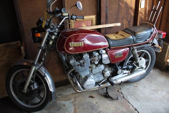 1978 Yamaha XS11, 23,872 Miles Shown