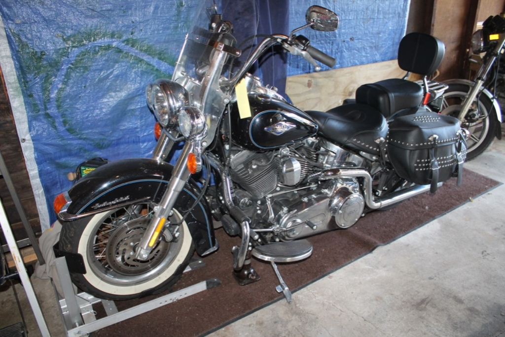 2014 Heritage Softail Classic 103, 5,155 Miles