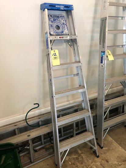 6' Werner step ladder alum.