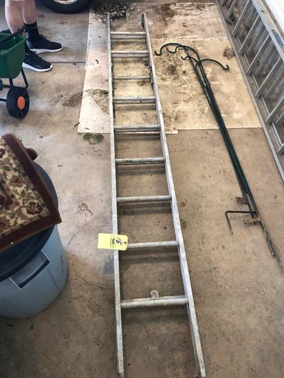 10' alum ext ladder