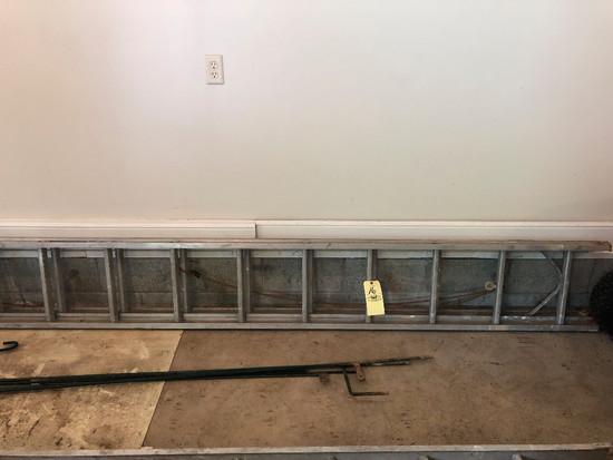 12' alum ext ladder