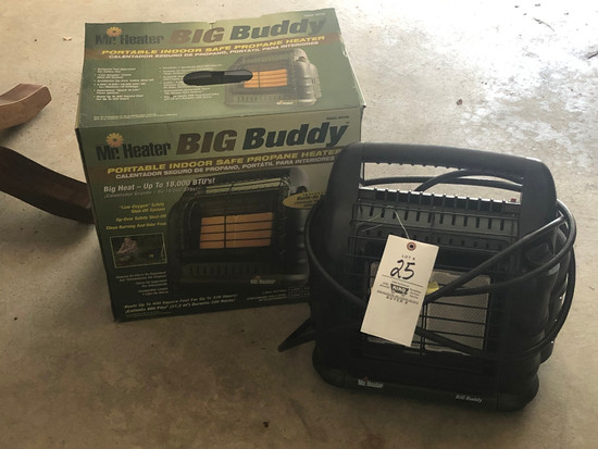 Big Buddy LP Heater