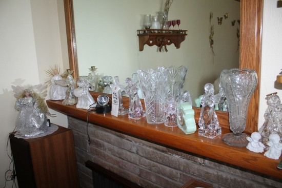 Scotty Dogs, Angel Figurines, Glass Vases
