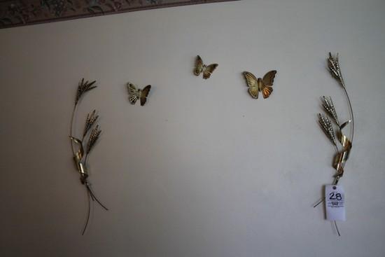 Wall Decorations, Butterflies