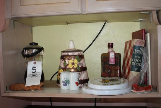 Lantern, Burner Covers, Pottery, Salt & Pepper Shakers, Cook Book